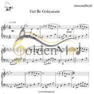 نت پیانو Gel Be Gokyuzum