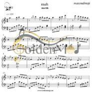 نت پیانو ماه مارتیک