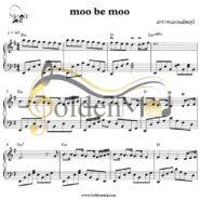 نت پیانو مو به مو از رضا بهرام