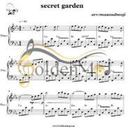 نت پیانو Secret Garden