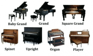 پیانو و انواع پیانو