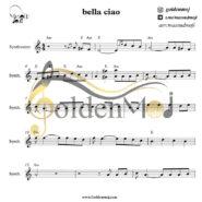 نت کیبورد Bella Ciao از مانلی جمال (Maneli Jamal)