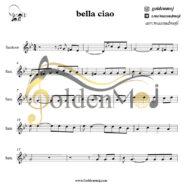 نت سنتور Bella Ciao از مانلی جمال (Maneli Jamal)
